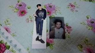Jisung Standee & Daniel Photocard NWY set