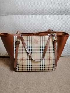 Burberry Inspired Shoulder Bag