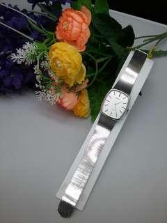 綠琴機械上錬手表(兩針表  )