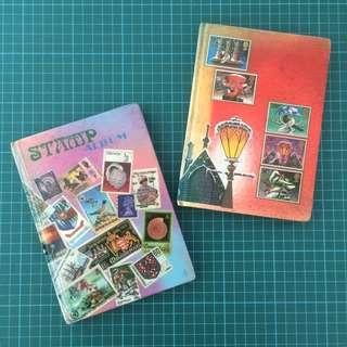 Old Small Stamp Albums