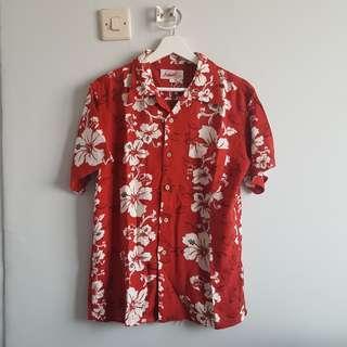 Hawaiian Shirt 100% Rayon