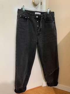 Assembly Label straight-leg high-waist jeans
