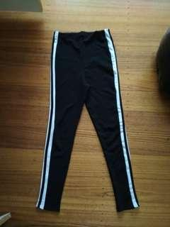 Stripe leggings