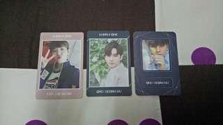 Ong Seongwu & Kim Jaehwan Undivided photocards