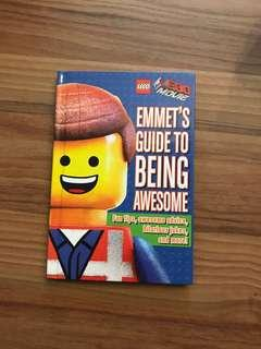 Lego movie Emmet's guide to being awesome