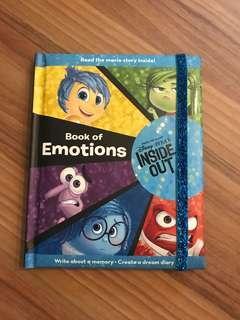 Disney inside out book of emotion