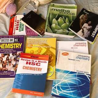 CHEMISTRY & SOR TEXTBOOKS