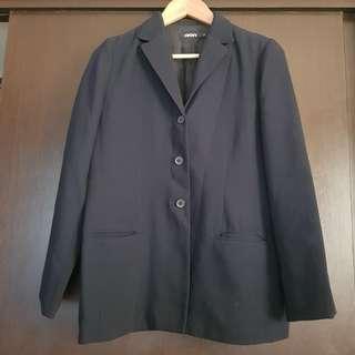 DKNY Dark Blue Coat