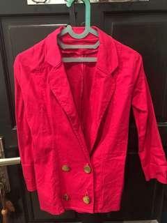 Pink blzer