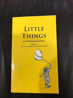 Little Things an anthology of poetry