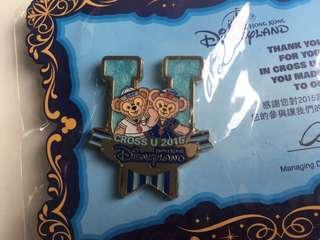 迪士尼襟章 Disney Pin✨Duffy ShellieMay 2015