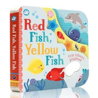 @(Brand New) Little Me Red Fish, Yellow Fish  [First Colours Playbook]  [Board Book]  By: Parragon Books Ltd   For Age : 0 - 3 years