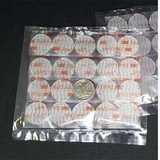 3M Dual Lock Reclosable Fastener SJ3560 - 20mm coin shape