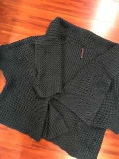 🚚 2% TOKYO 深綠羊毛外套