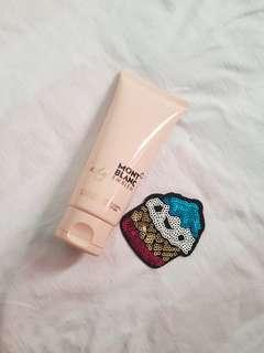 Lady mont blanc perfume lotion
