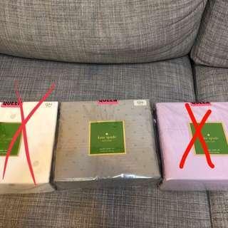 Kate spade 4 piece sheet set 床單連枕袋
