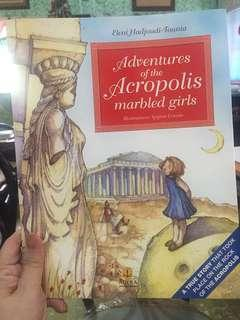 Adventures of the Acropolia Marbled Girls (Illustrated(