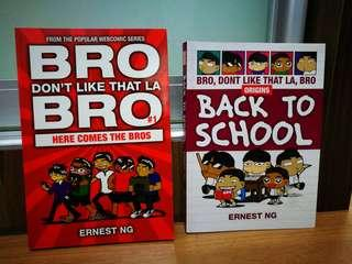 Bro don't like that la bro comic 1 & 2