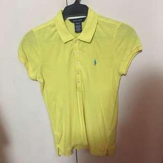Ralph Lauren yellow polo