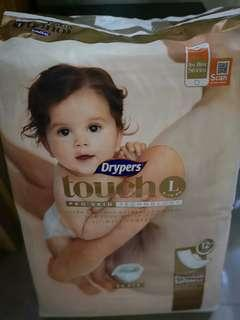 FREE Drypers Touch L Size