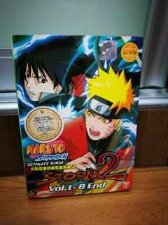 Naruto shippuden ultimate ninja storm 2 dvd