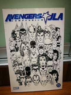 Avengers jla justice league compendium