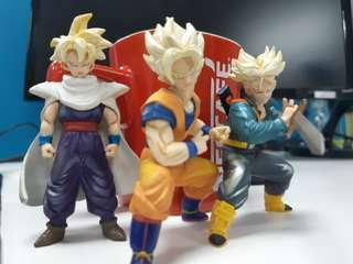 Goku, Gohan and Trunks