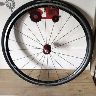 Gokiso Wheelset New HED Belgium C2 plus rims done by Built (Price is reduced and fixed)