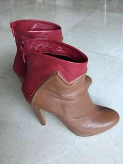 Tsumori Chisato leather boots