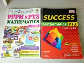 PT3 Maths Exercise and Reference Book for Form 1,2 and 3