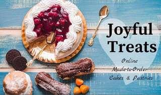 Joyful Treats (Online Made-to-Order Cakes and Pastries)