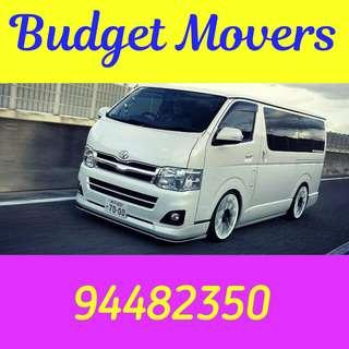 CHEAP BUDGET MOVERS