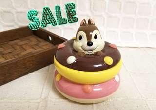 ☆罕有☆(中古) 💯正品 日本 Disney Chip n Dale 大鼻鋼牙 奇奇蒂蒂 陶瓷 器皿