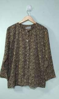 Vintage Long Sleeved Blouse