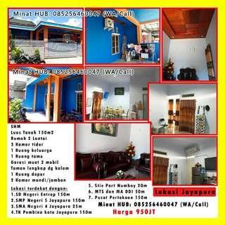 Rumah second siap huni di Jayapura