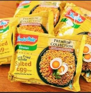 Indomie Salted Egg Curly Fried Noodle 10packet