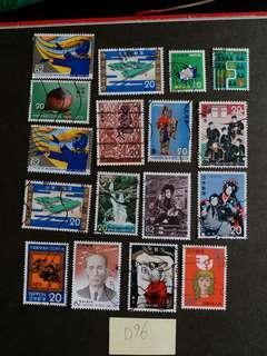 D96 日本郵票 已銷郵票