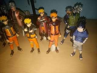 Naruto HSCF set