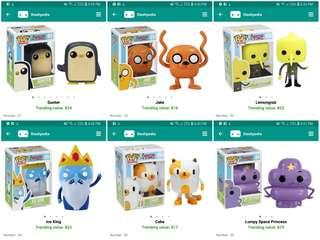 Adventure Time Funko Pop!