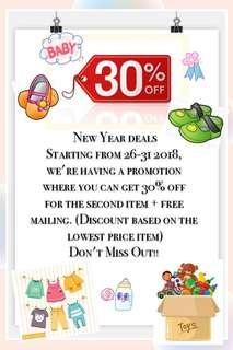 🎉New Year Promotion!!!🎉