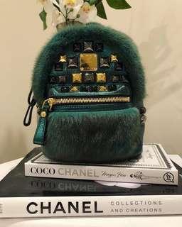 Limited Edition MCM Fur Mini Backpack