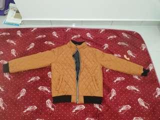 Diamond design winter jacket