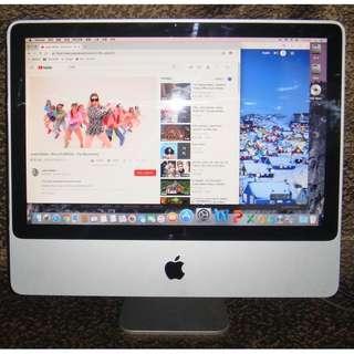 """Apple iMac A1224 Early 2008 20"""" 2.4 GHz"""