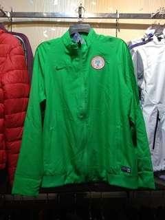 Jaket Bola Club Negara Timnas Tim Nasional Anthem Home Nigeria Hijau
