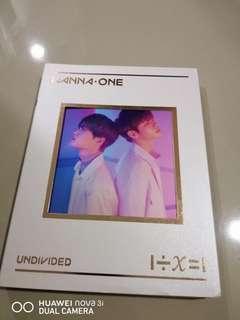 Wanna one undivided album