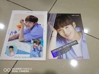 Wanna one summer package loose set