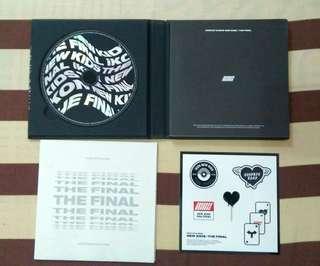 Album only iKON New Kids The Final Blackout Version