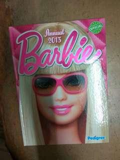 The Official Annual of Barbie year 2013