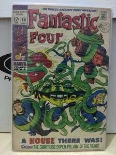 🚚 Fantastic Four Vol. 1 #88 - A House There Was!