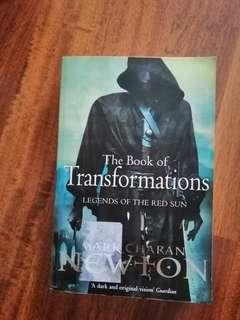 The book of transformation by Mark Charan Newton